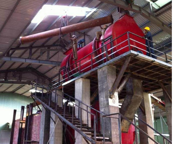 Beston biomass pyrolysis plant