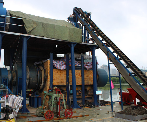 Solid Waste Carbonizing Equipment