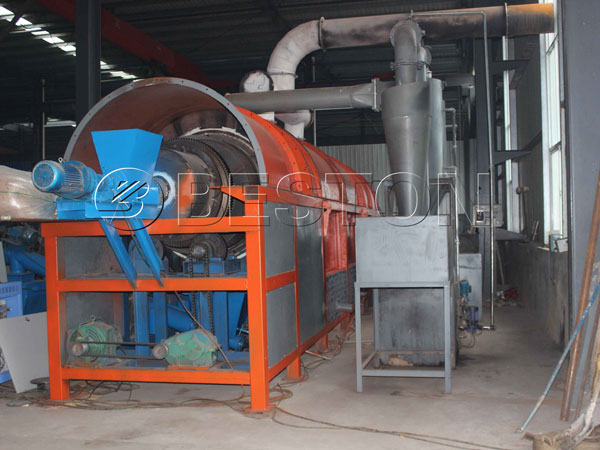 Waste Sludge Treatment Plant