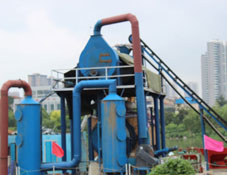 semi-solid waste carbonization equipment