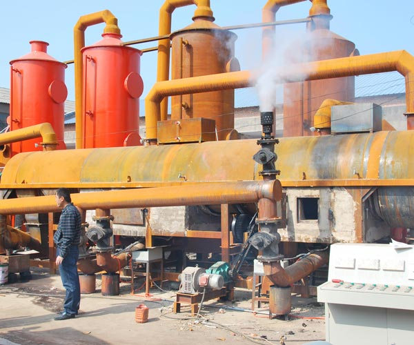 Carbonization Furnace For Charcoal
