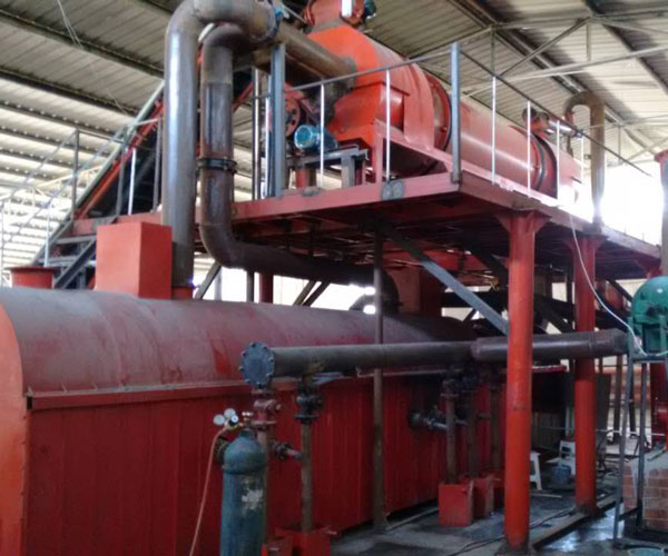 Wood Pyrolysis Machine