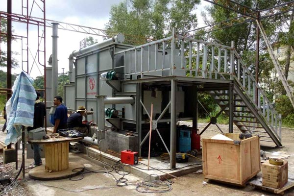 Carbonization Machine Has Been Exported To Malaysia