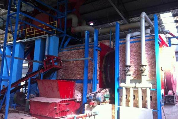 carbonization equipment was installed successfully in Vietnam