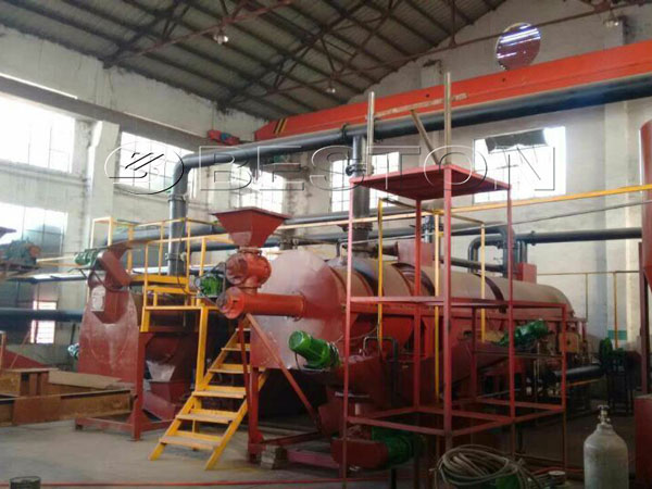 Beston Sawdust Charcoal Making Machine