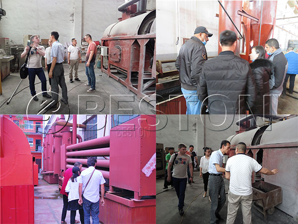 Client-from-different-countries-came-to-visite-Beston-biochar-production-equipment