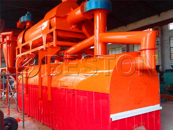 Furnace of wood pyrolysis plant