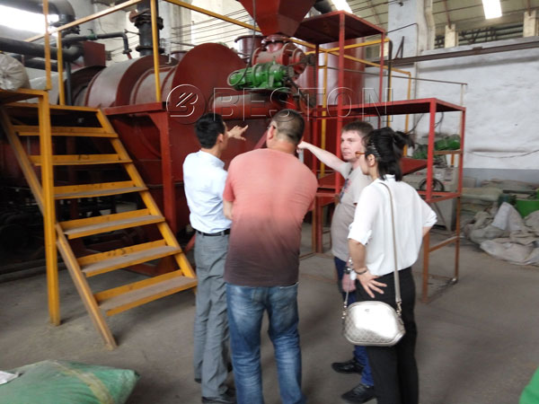 Welcome Russia clients came to Beston Group for visiting