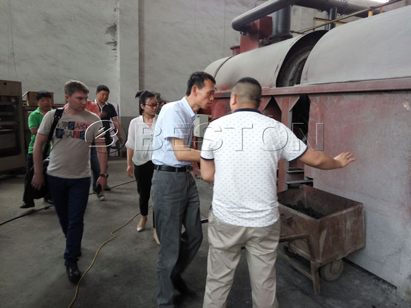 Beston Charcoal Making Machine