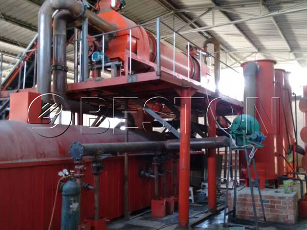 Beston Carbonization Machine