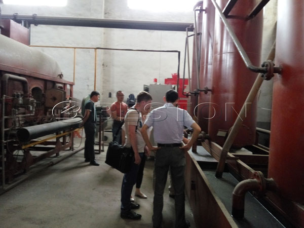 Beston biomass carbonization machine