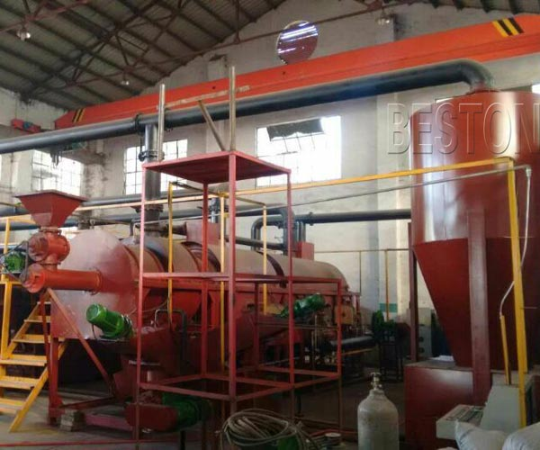 Biomass Charcoal Production Machine