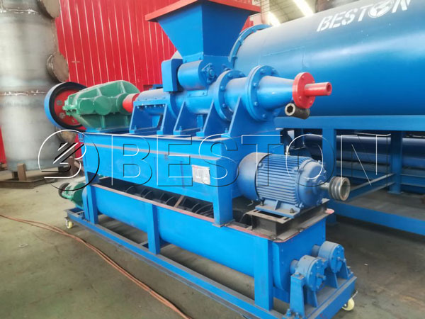 Continuous Biomass Carbonization Machine