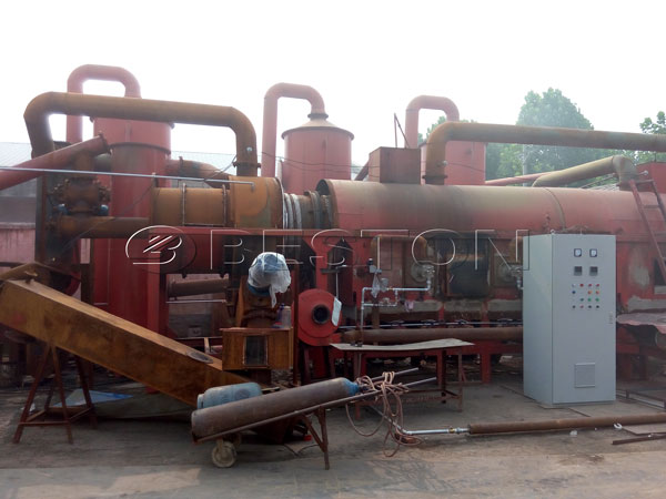Wood Pyrolysis Machine for Sale